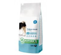 Natures Protection Medium Adult 12kg dog food