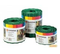 Бордюр зеленый 15 см, 9 м Gardena 00538-20