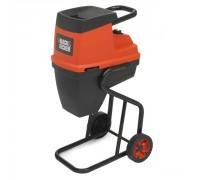 Измельчитель садовый Black & Decker GS2400, 2400 Вт, 40мм