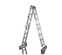 Алюминиевая лестница шарнирная (4х4), Н=4,5/5,4м (TL4044) 30216074