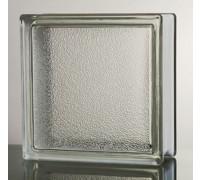 "Стеклоблок ""Tangerine Skin A"", прозрачный 190х190х80мм, JH008 (24104004)"