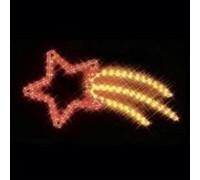 Контур светодиодный Летящая звезда PHA-021, 29*66 см