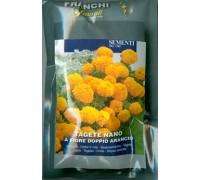 Тагетес карликовый махровый оранжевый (2 гр)  DBF 353/8   Franchi Sementi