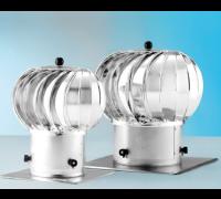 Дефлектор (дымоотводный колпак) Dospel TRN 200 серебр.