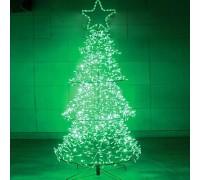 Елочка зеленая, 80х80х180см, PHD-007-1,8М-4F,  RI GE